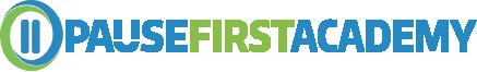 Pause First Academy Logo